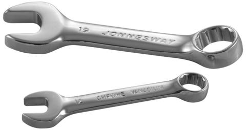 W53115 Ключ гаечный комбинированный короткий, 15 мм