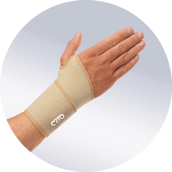 Лучезапястный сустав и пальцы Бандаж из аэропрена и материала Coolmax, с отверстием для большого пальца 357585.jpg