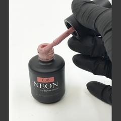 NEON, гель-лак Irish coffee № 038 , (12 ml) розово-кофейный