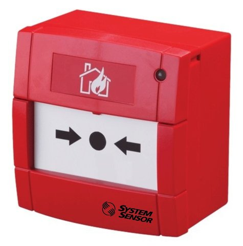 Извещатель пожарный ручной ИП535-8М (ИПР-ПРО-М) (красный)