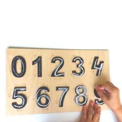 Дидактическое пособие для дошкольников Цифры
