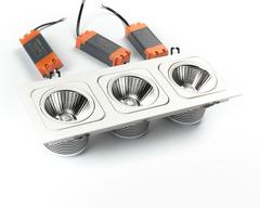 светильник точечный карданный L6129BACOB-3x15W