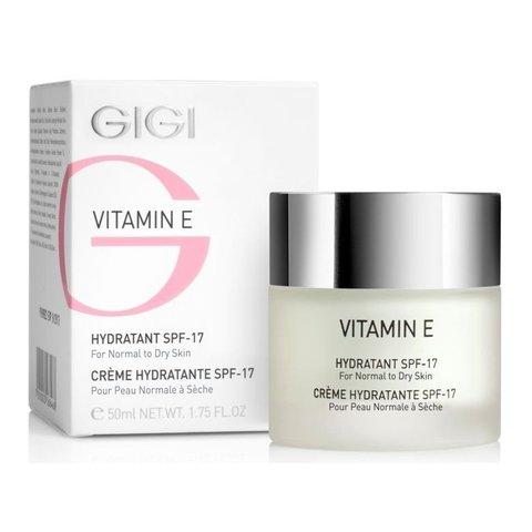 Gigi Vitamin E Hydratant SPF 17 For Normal To Dry Skin, Увлажняющий крем для нормальной и сухой кожи SPF 17, 50 мл.