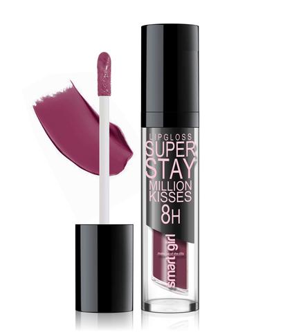 Супер стойкий блеск для губ Smart girl Million kisses (New) тон 219