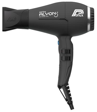 Фен Parlux Alyon Ionic, 2250 Вт, 2 насадки, черный