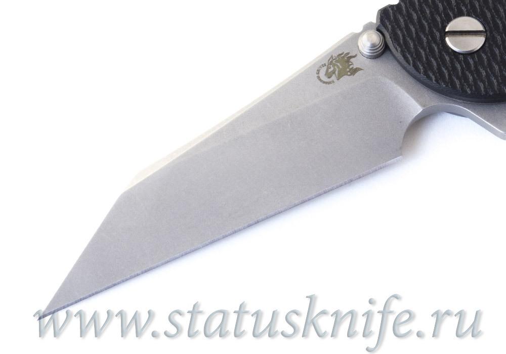 Нож Hinderer XM24 gearhead Wharncliffe Black - фотография