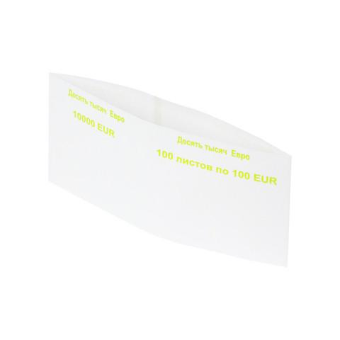 Кольцо бандерольное номинал 100 евро (40х93 мм, 500 штук в упаковке)