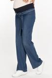 Джинсы для беременных (STRAIGHT CUT) 09588 синий