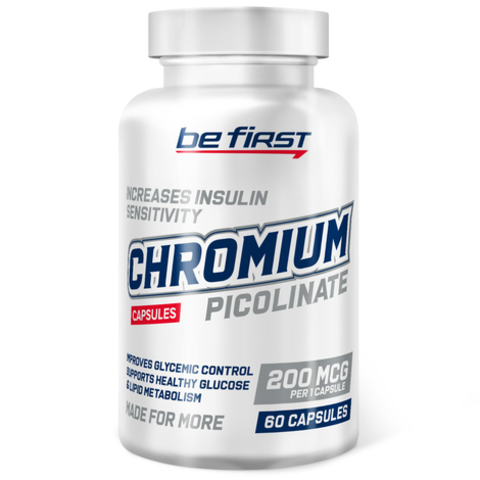 Be first Chromium Picolinate, 60 капсул
