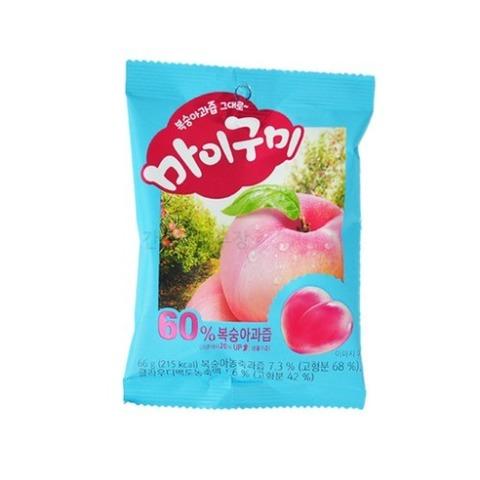 Жевательный мармелад Orion My Gummy со вкусом персика 66 гр