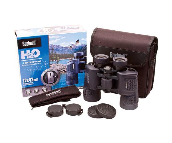 Комплект поставки биноклей Bushnell H2O