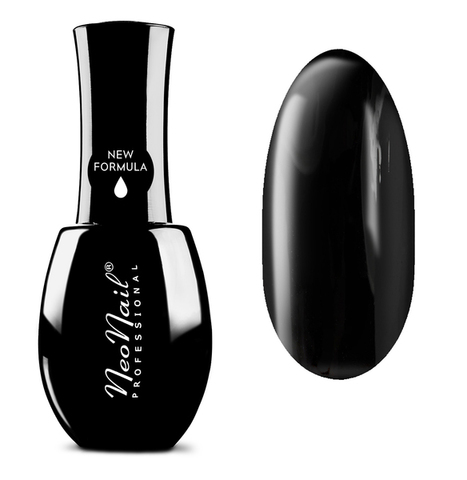 NeoNail Гель лак UV 15ml Pure Black №2996