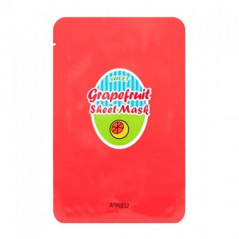 АП Маска для лица тканевая A'PIEU Grapefruit & Sparkling Sheet Mask 23гр