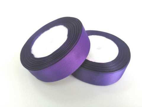 Лента репсовая 2,5см (Фиолетовый №35)