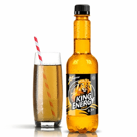 Напиток энергетический KING Energy Drink 0,5 л пл/б КАЗАХСТАН