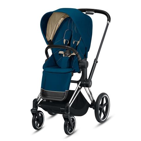 Прогулочная коляска Cybex Priam III Mountain Blue Chrome Black