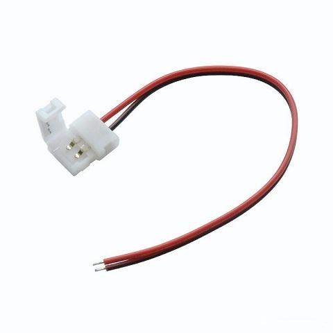 Коннектор для светодиодных лент 8 мм