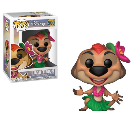 Фигурка Funko POP! Vinyl: Disney: Король лев (Lion King): Luau Timon