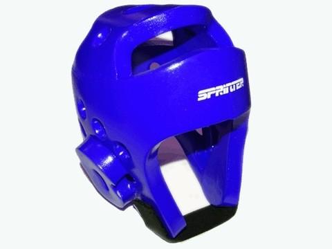 Шлем для тхеквондо. Размер S. Цвет синий. (ZTT-002С-S) (27200_1)