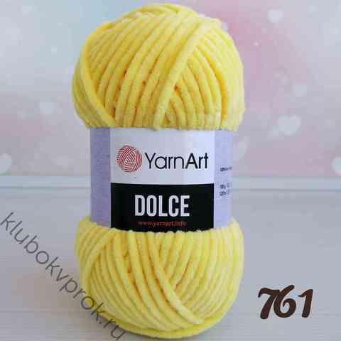 YARNART DOLCE 761, Желтый