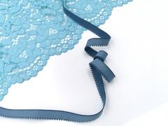_Отделочная резинка с фестонами, 12мм, арктика (серо-голубой), (Арт: 531/11- 1582), м