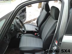 Чехлы на Suzuki SX4 хетчбек 2006–2015 г.в.