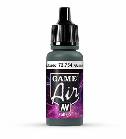Game Air Gunmetal 17 ml.