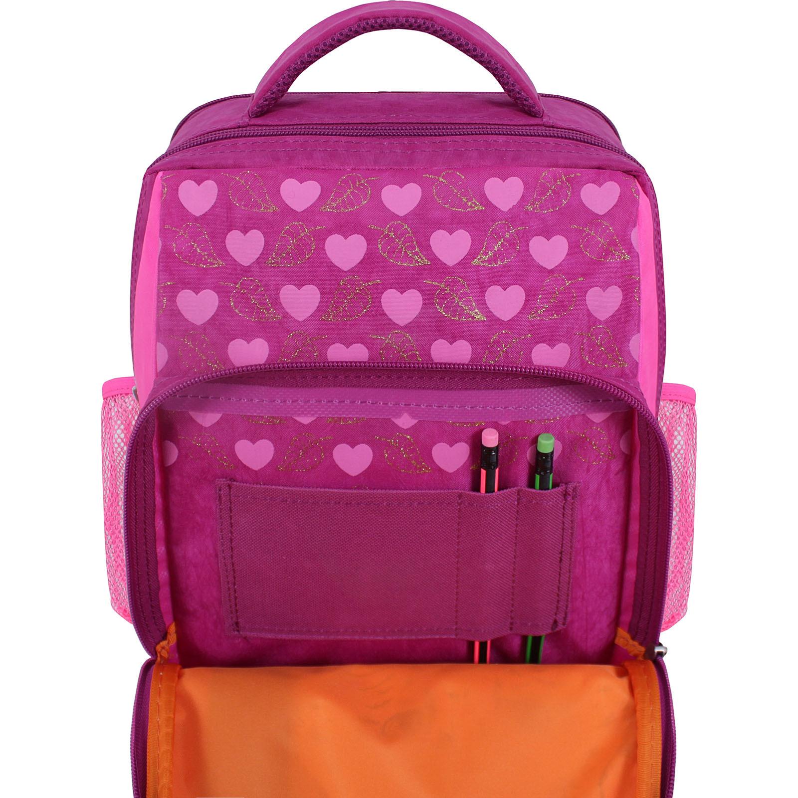 Рюкзак школьный Bagland Школьник 8 л. 143 малиновый 512 (0012870) фото 4