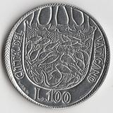 K9633, 1975, Ватикан, 100 лир aUNC Год всепрощения