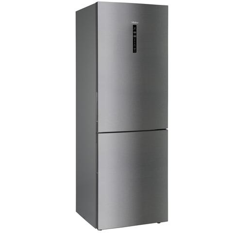 Холодильник HAIER C4F744CMG (1,9 m, серебристый, ширина 70см ,инвертер)