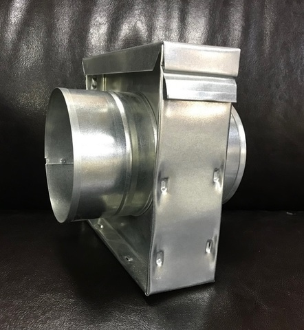 КУФ 150 - Кассетный угольный фильтр d 150мм