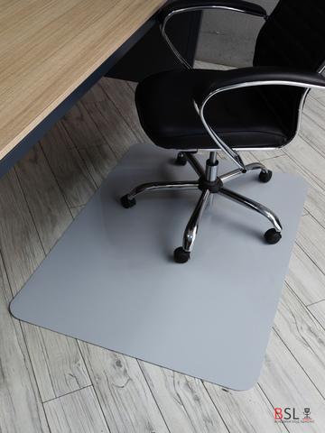 Коврик под кресло 1000x1200 мм серый