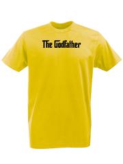 Футболка с принтом Крёстный отец (The Godfather) желтая 001
