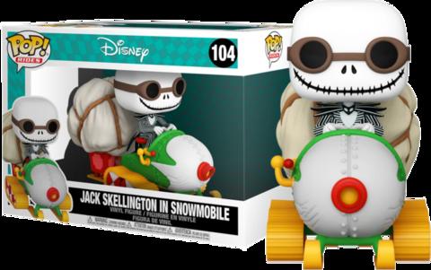 Фигурка Funko Pop! Rides: Nightmare Before Christmas - Jack Skellington in Snowmobile