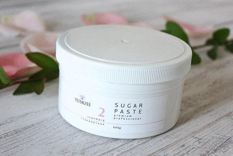 Сахарная паста на фруктозе для шугаринга YUSKISS 600гр (Стандартная)