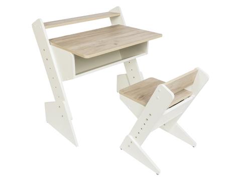 Детская растущая парта и стул