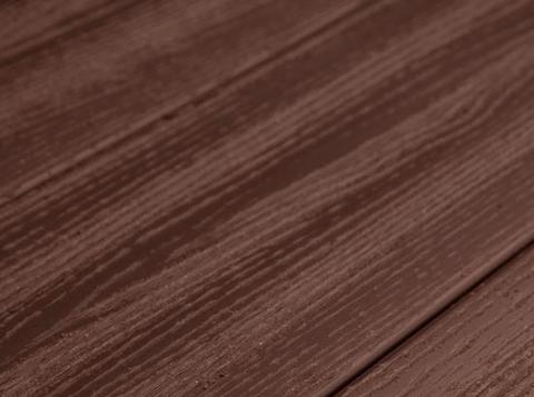 Террасная доска SW Padus (R) - радиальный распил. Цвет терракот.