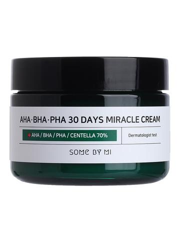 Крем с AHA BHA кислотами AHA.BHA.PHA 30 Days Miracle Cream 60ml