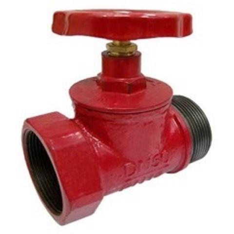 Клапан КПК-50 муфта/цапка чугун прямой