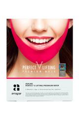 Лифтинговая маска (розовая) Perfect V lifting premium  mask, AVAJAR