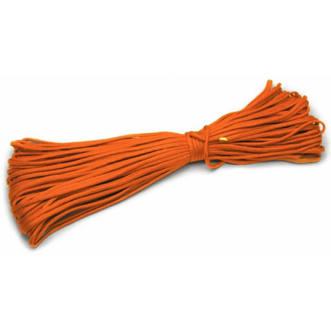 Шнур нейлоновый PC035 длина 30 м, диаметр 4.0 мм (оранжевый)