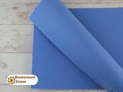 Фетр ЖЕСТКИЙ корейский светло-синий 1,2 мм (лист 22*30 см)
