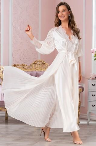 Халат женский шелковый  MIA-Amore SHARTRES Шартрез 7029