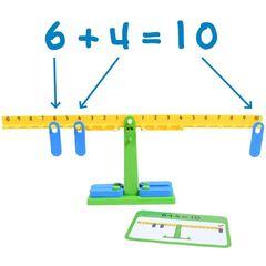 Обучающий набор Весы математические с заданиями Edx education, арт. 25897