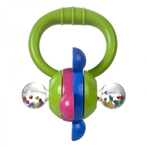 Погремушка - колесо, 0+ (зеленый)