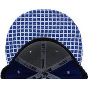 Бейсболка New Era Mesh синяя фото снизу