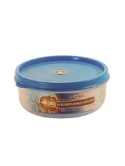 Бутербродница круглая 0,5 литра Эльфпласт контейнер для хранения еды с крышкой 13 см