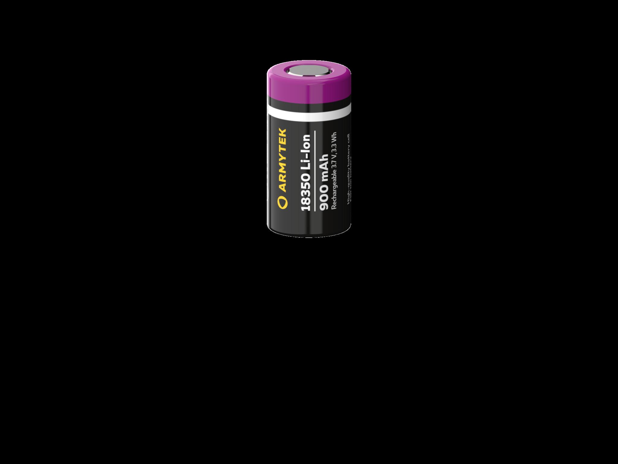 Аккумулятор Armytek 18350 Li-Ion 900 mAh. Незащищённый - фото 1