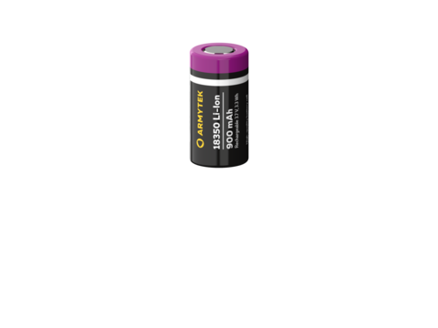 Аккумулятор Armytek 18350 Li-Ion 900 mAh. Незащищённый