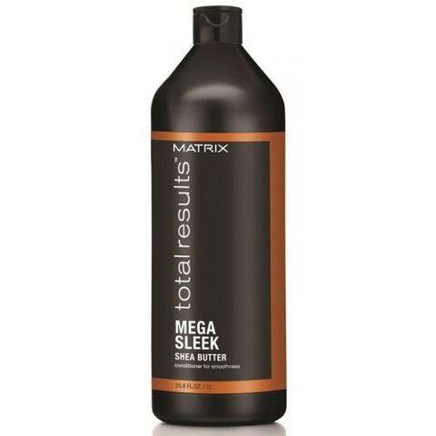 Кондиционер с маслом Ши для гладкости волос, Matrix Mega Sleek,1000 мл.